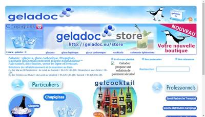 Site internet de Geladoc