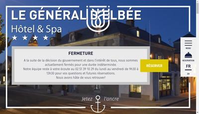 Site internet de Hotel d'Elbee