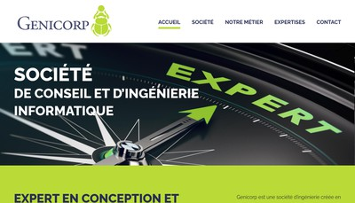 Site internet de Genicorp Partners