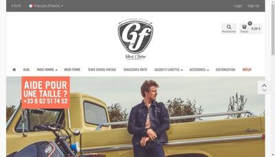 Site internet de Gentlemen'S Factory