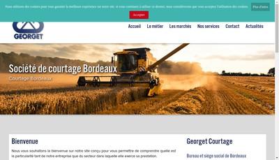 Site internet de Georget, GC , Georget Courtages, Georget Courtage Immobilier, Horizon Patrimoine, Ambition Patrimoi