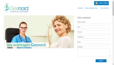 Site internet de Gesnord