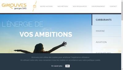 Site internet de Ginouves Georges