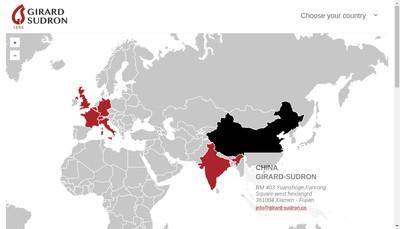 Site internet de Girard-Sudron & Cie