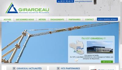 Site internet de Entreprise Girardeau