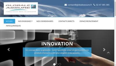 Site internet de Etude Assure, Maghreb Assure, Loisir Assure