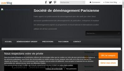 Site internet de Global Solution Logistique