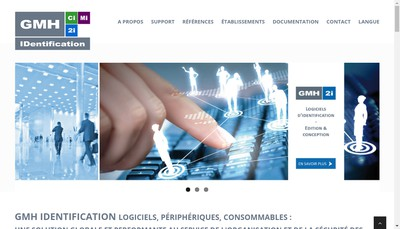 Site internet de GMH Identification Informatique (Gmh 21)