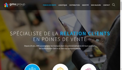 Site internet de Gestion Marketing et Strategie