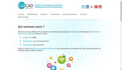 Site internet de Gocad Services