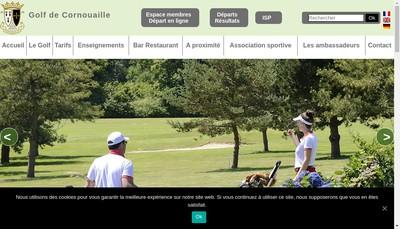 Site internet de Golf de Quimper et de Cornouaille