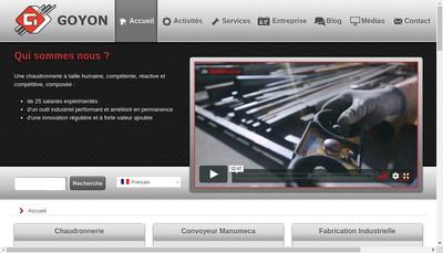 Site internet de Goyon