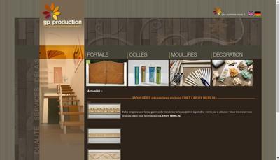 Site internet de Etudes GP Realisation a Labrit