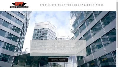 Site internet de Groupe Pose Facade