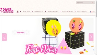 Site internet de Graine Creative
