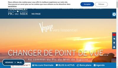 Site internet de Grand Cafe des Coustous