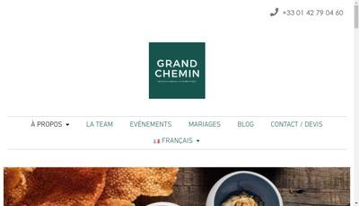 Site internet de Grand Chemin
