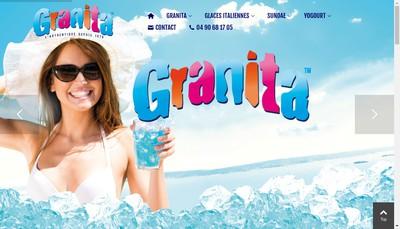 Site internet de Granita