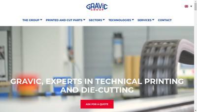 Site internet de Gravic