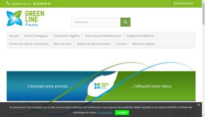 Site internet de Green Line France