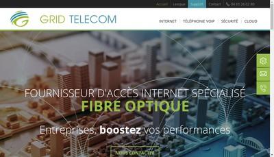 Site internet de Grid Telecom