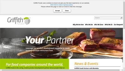 Site internet de Griffith Foods