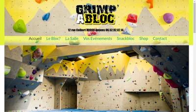 Site internet de Grimp' a Bloc