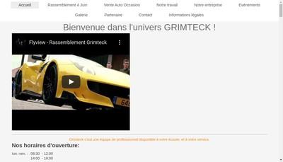 Site internet de Grimteck