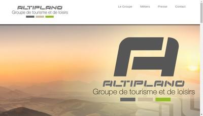 Site internet de Altiplano