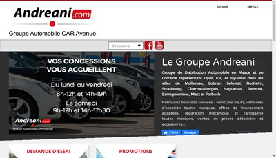 Site internet de Hpm Automobile