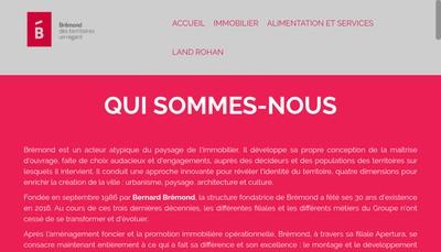 Site internet de Bremond