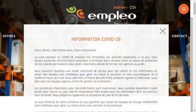 Site internet de Empleo Potentiel Humain