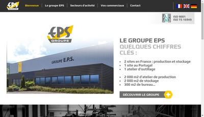 Site internet de Eps Distribution