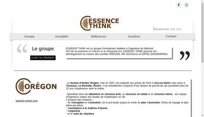 Site internet de Groupe Spr