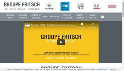 Site internet de Garage Yvan Fritsch