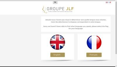 Site internet de Groupe Jlf