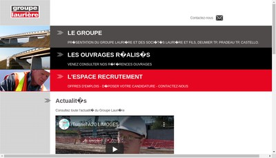 Site internet de Lauriere Tp