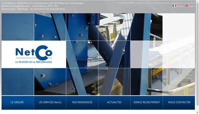 Site internet de Societe de Caoutchoucs Plastiques et Manutentions Scpm
