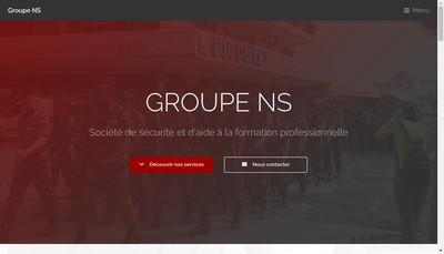 Site internet de Groupe Ns