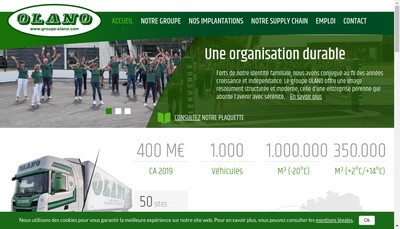 Site internet de Olano Services