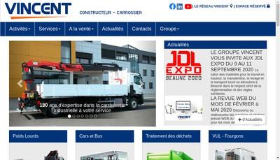 Site internet de Mobilcar Carrossier Constructeur