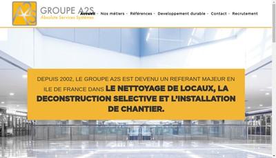 Site internet de Groupe A2S