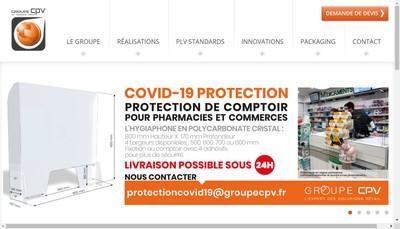 Site internet de Cpv+