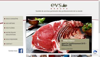 Site internet de Groupe EVS