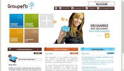 Site internet de Francois Bernard Assurances