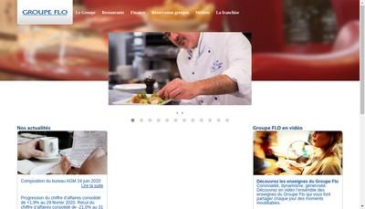 Site internet de Groupe Flo
