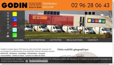 Site internet de Groupe JM