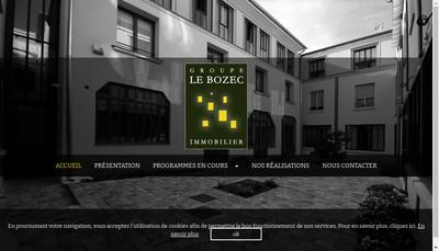 Site internet de Groupe le Bozec