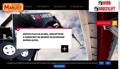 Site internet de Bennes Manjot