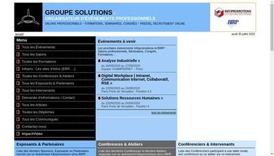 Site internet de Infopromotions